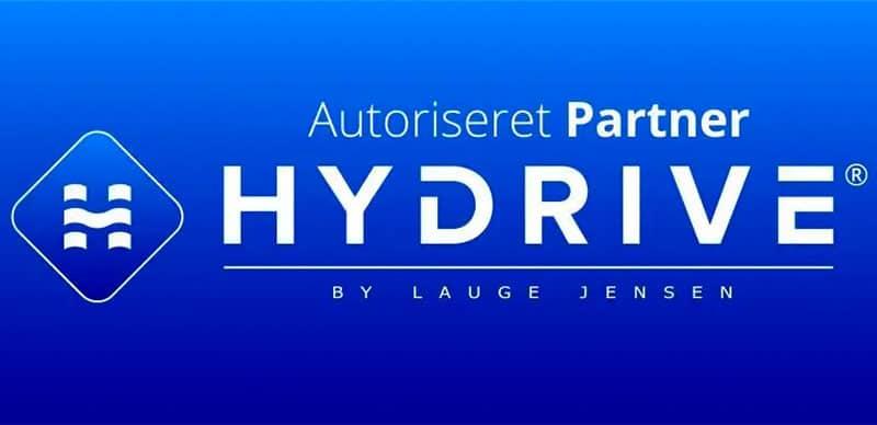 Logo for hydrive motorrens, de er en autoriseret partner til Chip-det.dk